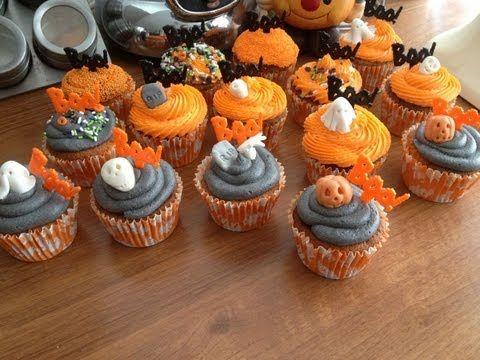 Buttermilk Halloween Cupcakes by Marie Mol-Gonzalez Halloween - decorating halloween cakes