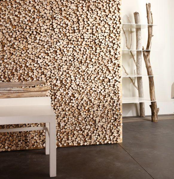 Mur bois flotté. | Déco intérieur | Pinterest | Drift wood, Wood ...