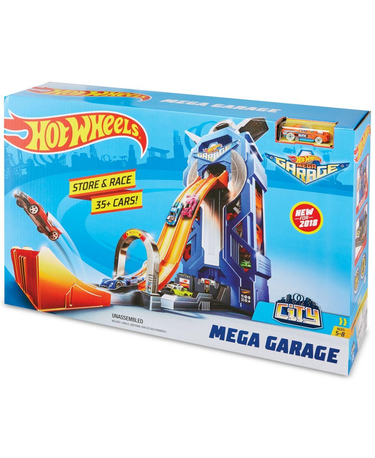 Hot Wheels Mattel Mega Garage & Reviews - Home - Macy's