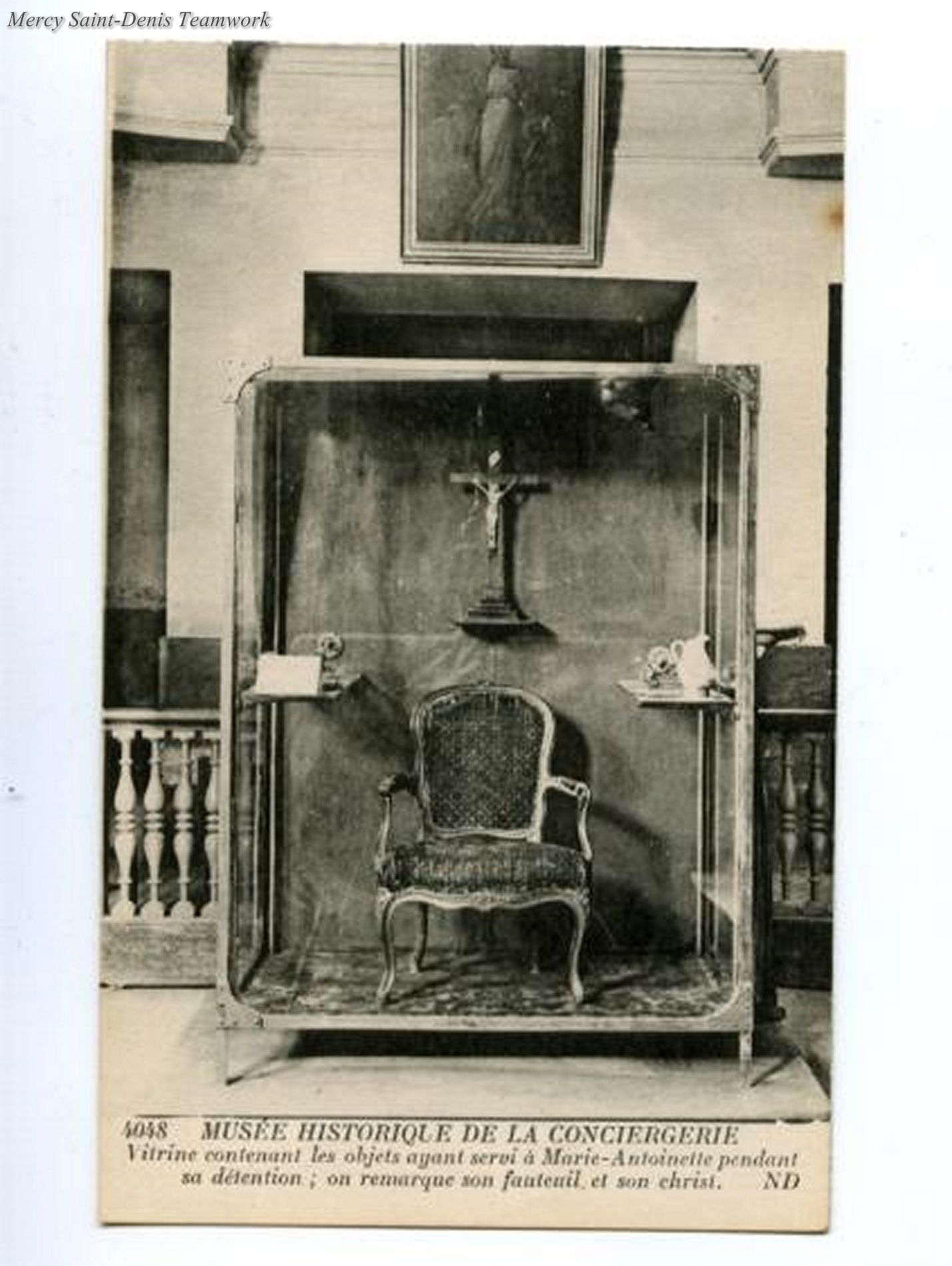 Vintage Photo Of A Few Relics Of Marie Antoinette From The Conciergerie Prison Marie Antoinette Marie Antionette French History