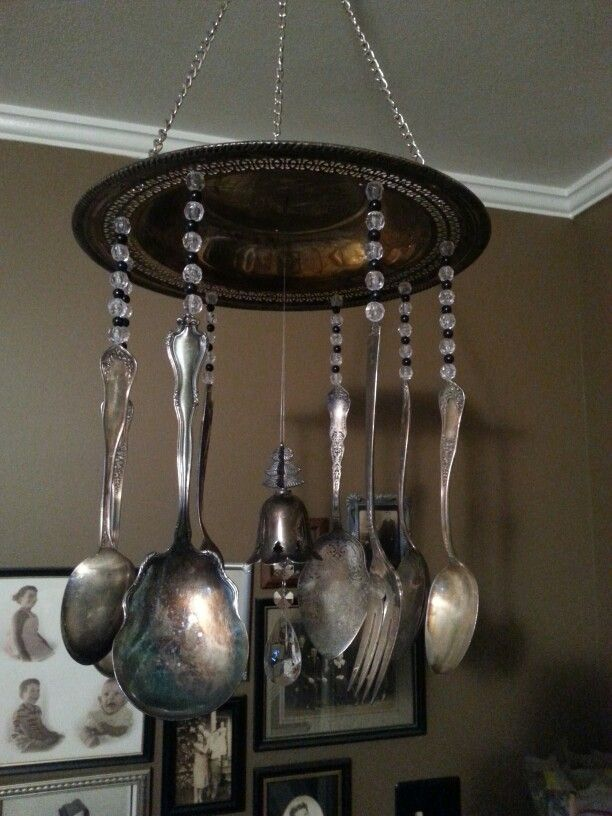 Wind chime  made of parents old silverware!