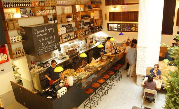 Librer as madrile as donde mojar la magdalena cafeterias - Decoracion cafeterias modernas ...