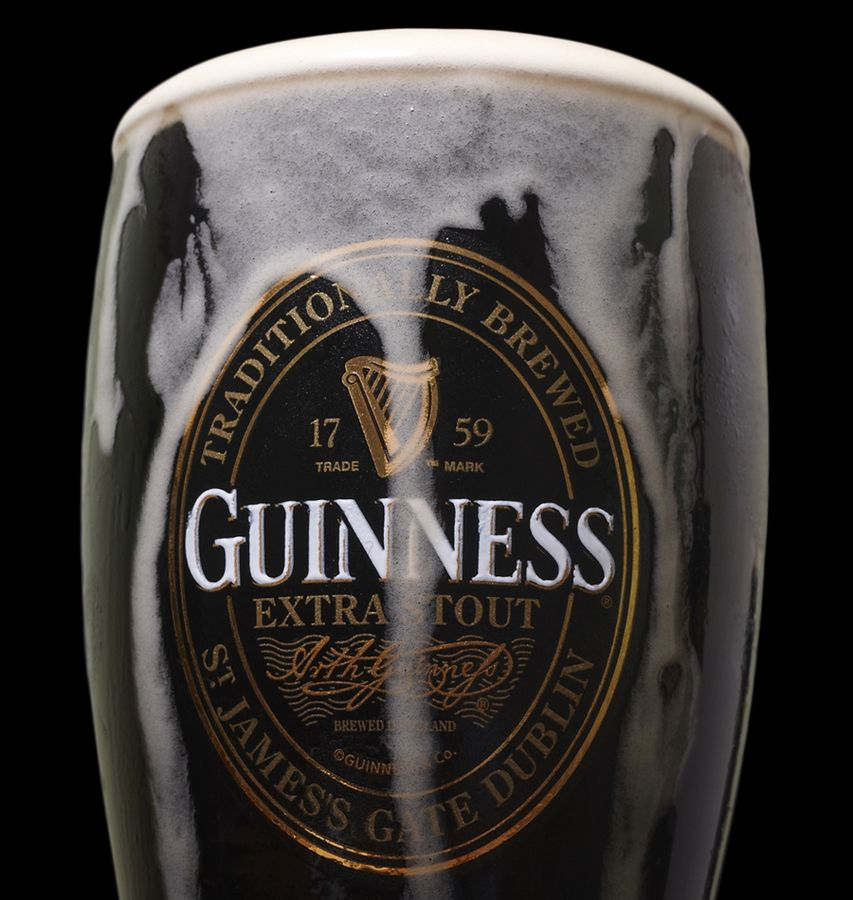 Guinness around since 1759 this is a classic beer for Guinness beer in ireland