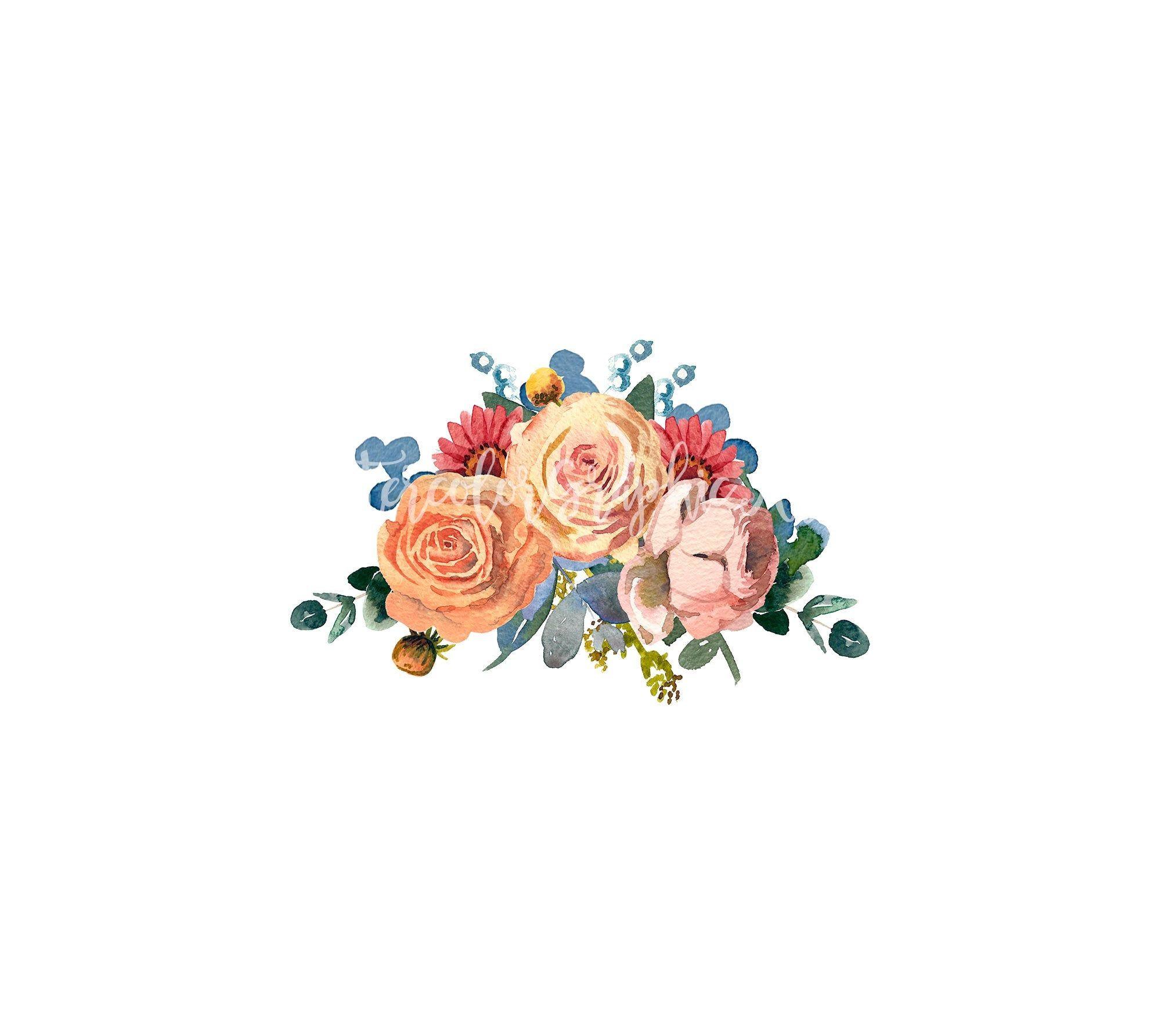 Clipart No Background Image Wedding CLipart Clipart Flower Digital Download Vintage Illustration for Digital Art PNG 1711 Collage