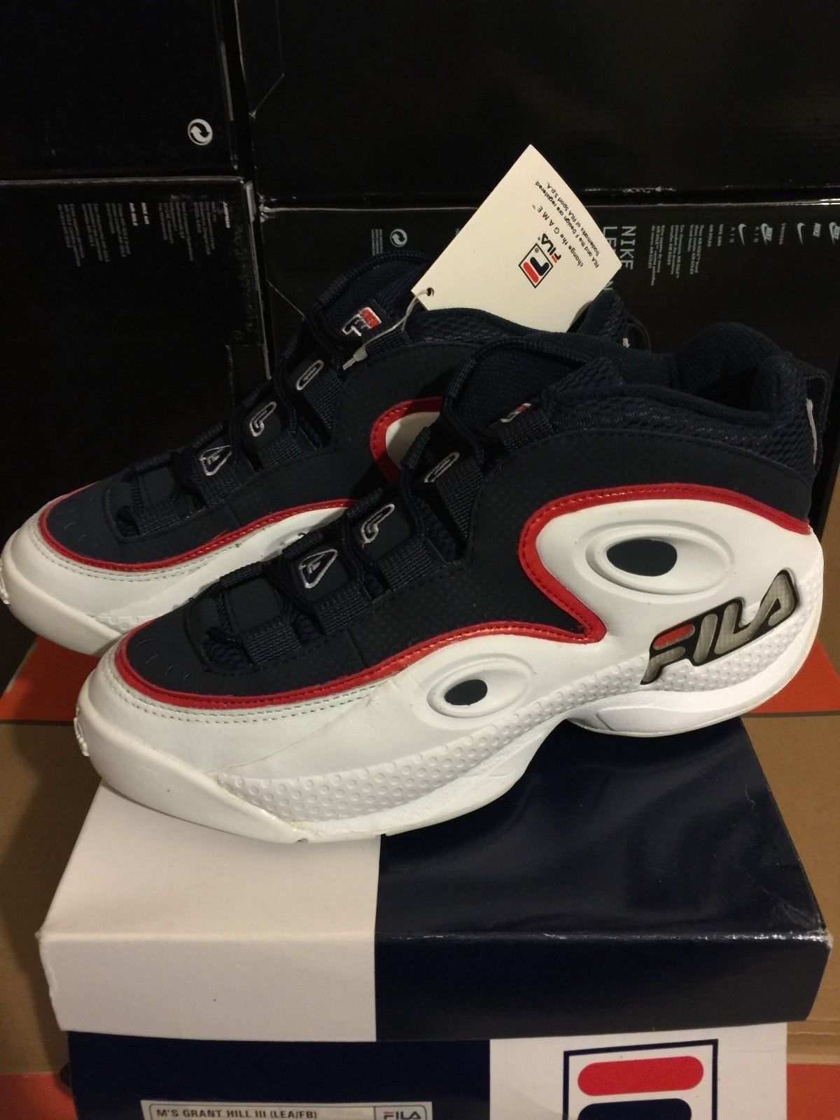 Pin by Allen Campbell on Fila Brand | Fila basketball shoes