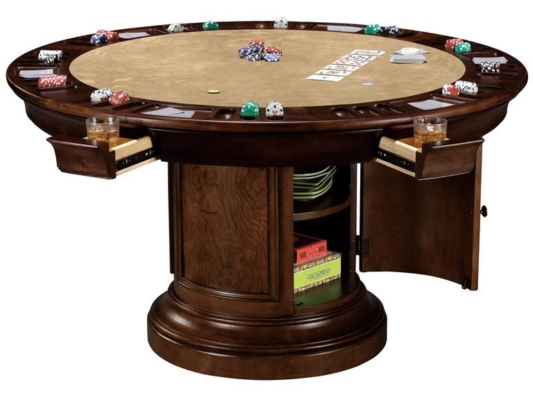 Round Board Game Table