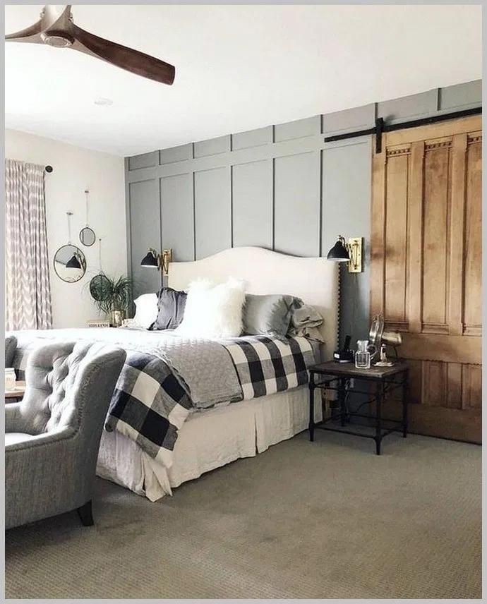 50 Cozy Farmhouse Master Bedroom Remodel Ideas: 30 Cozy Bedrooms Ideas That Nails The Farmhouse Aesthetic