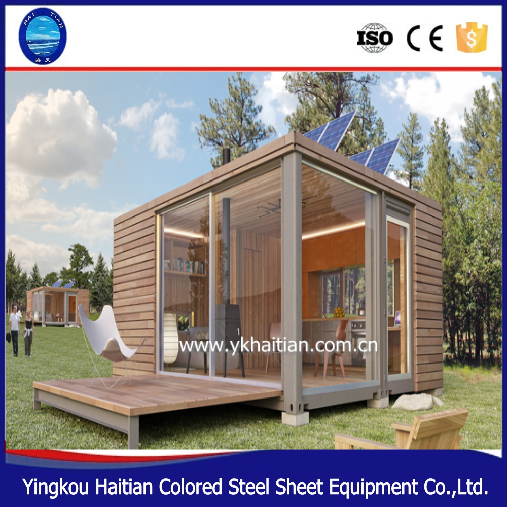 Wooden/ Luxury Living Container House / Prefabricated Glass Contianer Home  For Plans , Find Complete