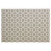 Found it at Wayfair - Flat Weave Dark Sage Area Rug