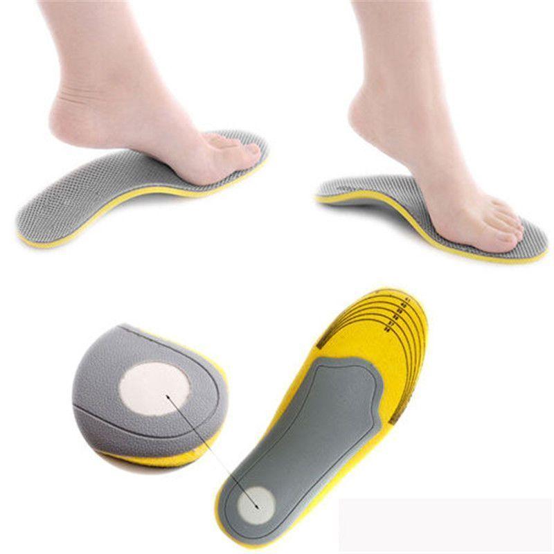 1 Pair Unisex Memory Foam Shoe Insoles Trainer Foot Care Comfort Pain Relief