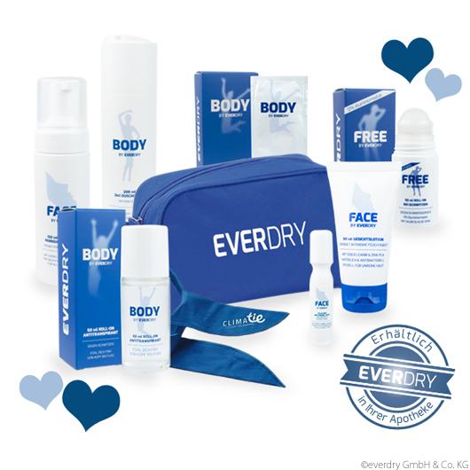 Everdry Gewinne 1 Von 3 Hautpflege Sets Speziell Fur Schwitzige Unreine Haut Schweissgeruch Unreine Haut Und Schweissflecken