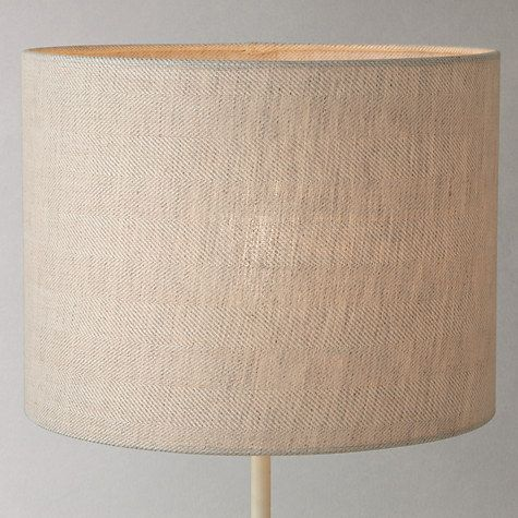 Where To Buy Lamp Shades Captivating Buy John Lewis Croft Collection Herringbone Lampshade Natural Design Inspiration