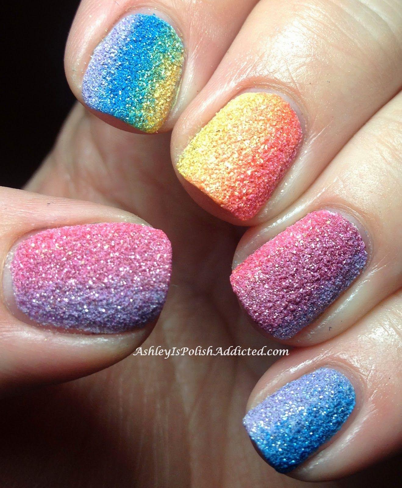 Piggieluv Rainbow Bubbles Nail Art: Ashley Is PolishAddicted: Zoya PixieDust Collection For