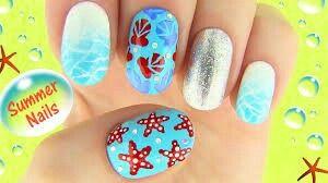Sara Beauty Corner Summer Nail Art Nail Art Summer Summer Nails Diy Nail Art Designs Summer