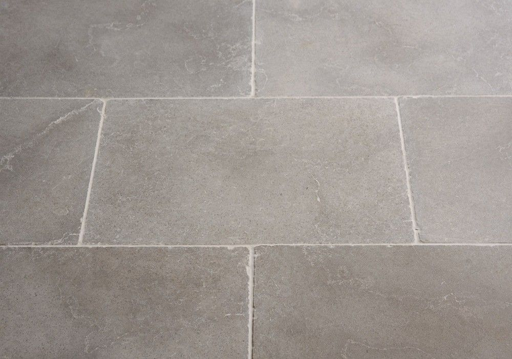 Dove Grey Tumbled Limestone Floors Of Stone Decorating