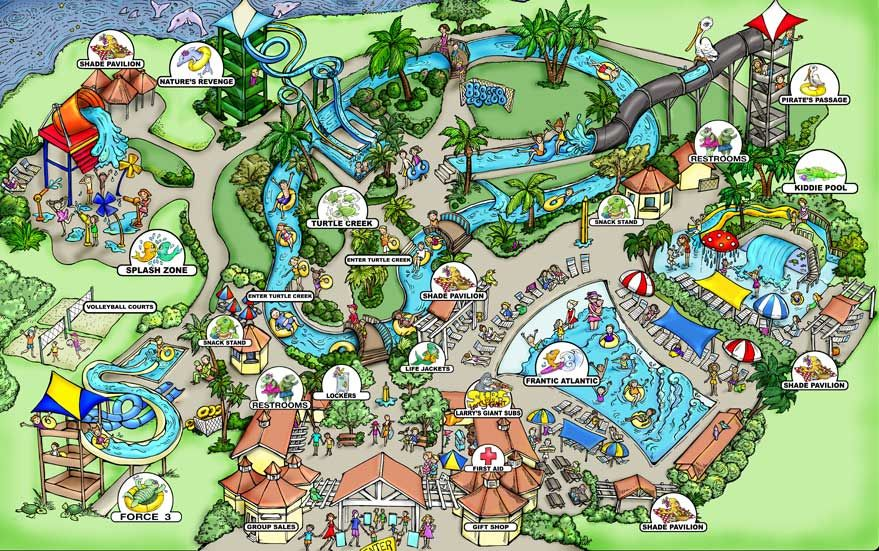 Take the family to cool off at Jekyll Island's water park. Fun ...