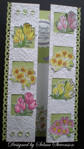 Selma's Stamping Corner: A card for Joan's Gardens Challenge