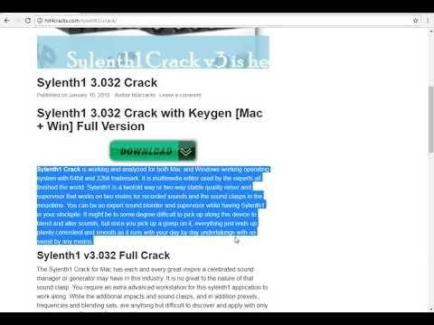 xfer serum torrent download mac