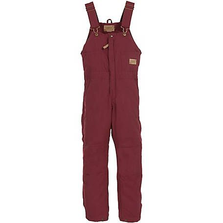 c e schmidt women s quilt lined insulated sanded duck bib on womens insulated bib overalls id=83270