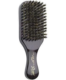 Robot Check Natural Bristle Brush Men S Grooming Brush