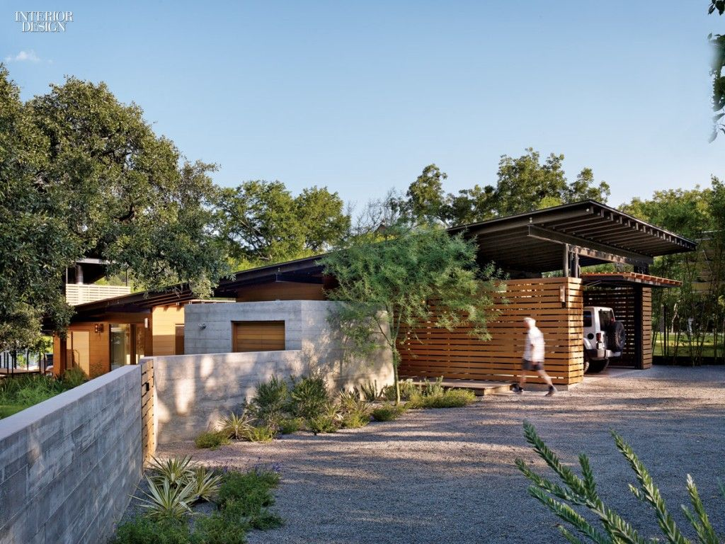 Home Design Exterior Smple Florida Lake House Design Brown Wood Wall on home clutter, shopping austin, home architecture, home organization,