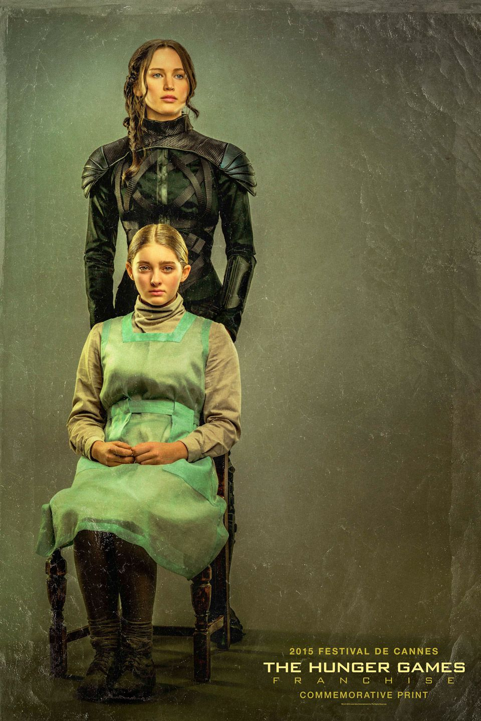 Exclusive Hunger Games Print Featuring Katniss and Prim