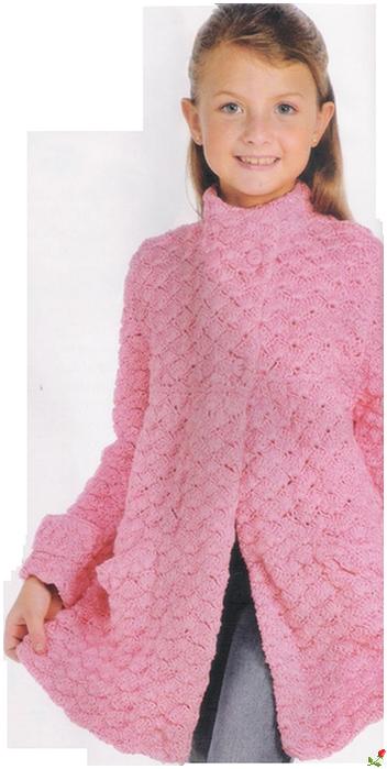 пальто для девочки вязаное крючком только схемы обсуждение на
