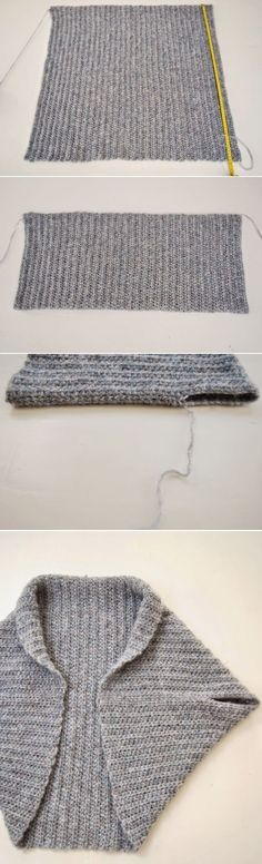 Easy Shrug Knitting Patterns   Darmowe robótki ręczne ...