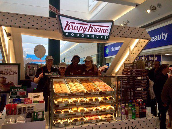 Pin By Krispy Kreme Uk On Uk Stores Store Opening Shopping Center White Roses