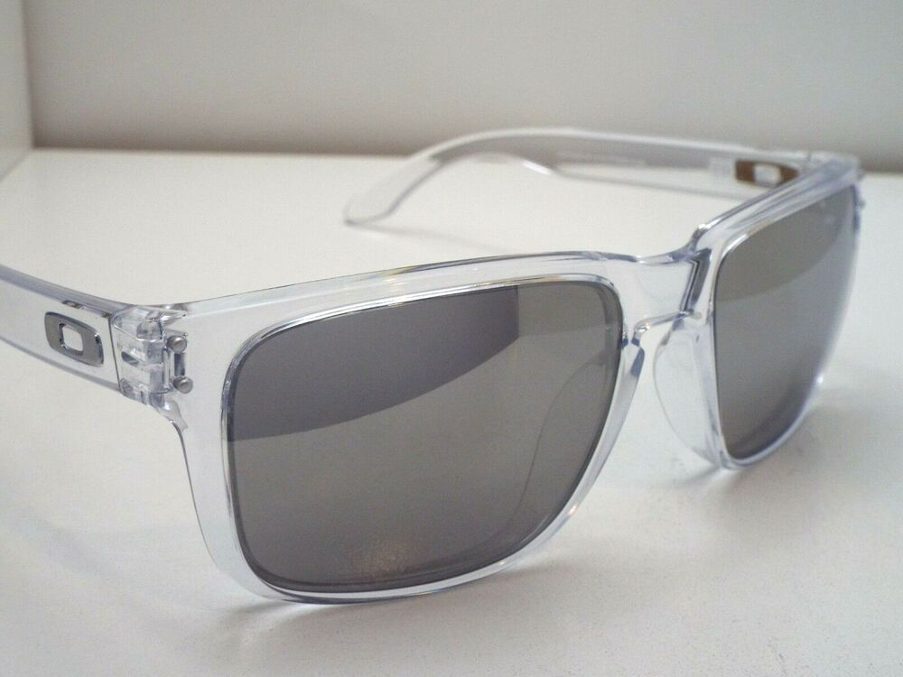 7a7a4b39bcf Authentic Oakley Holbrook OO9102-06 Clear Chrome Iridium Sunglasses  fashion   clothing  shoes  accessories  mensaccessories   sunglassessunglassesaccessories ...