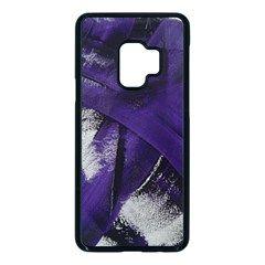 Violet Samsung Galaxy S9 Seamless Case(black)