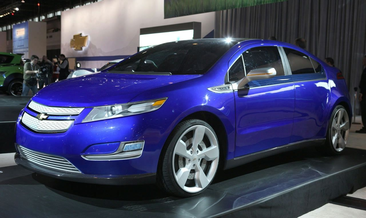 Cobalt Blue Chevy Volt Want Chevy Volt Car Suv