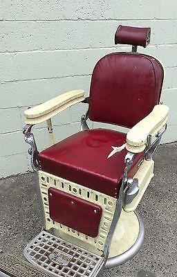 antique emil j paidar vintage 1920 s barber chair tattoo chair