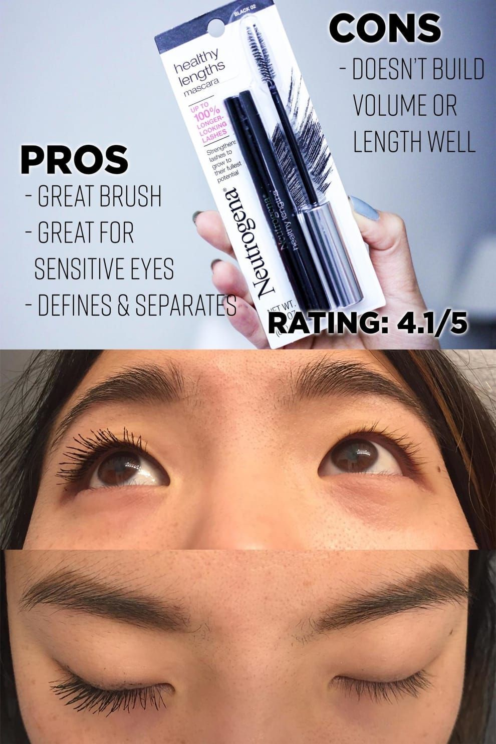 1c177de18dc I Tried Lots Of Cheap Mascaras To Find The Best Ones Because I Am Frugal  #MascaraTricks