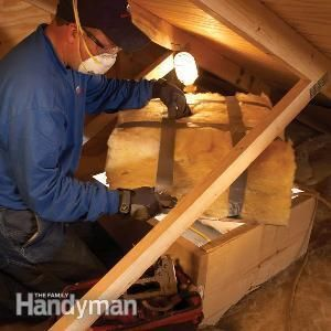 How To Insulate An Attic Door. Great How To Home Repair Site