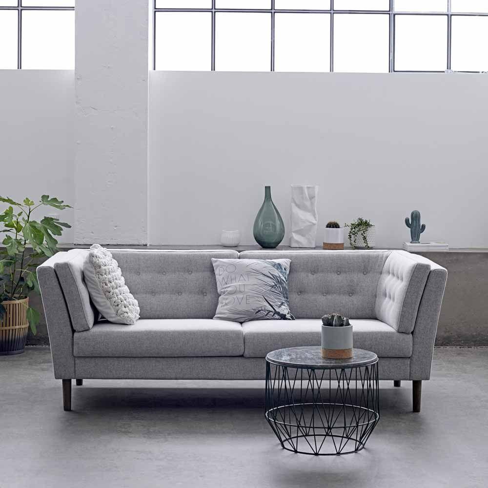 Hellgraues Sofa Im Danischen Design Www Milanari Com Mit
