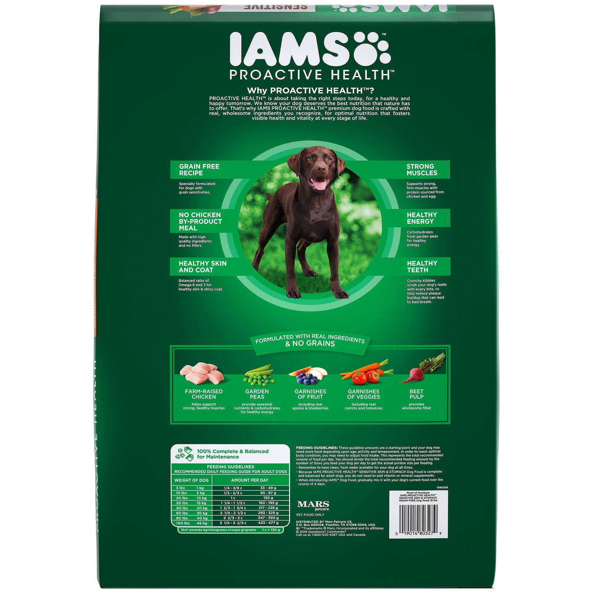 Iams ProActive Health Sensitive Skin and Stomach Grain