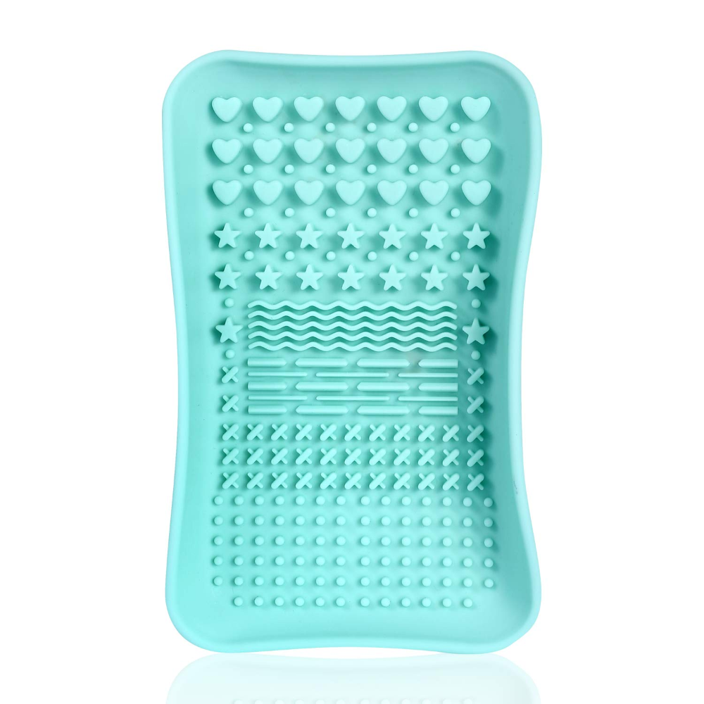 Photo of Amazon.com: Brush Cleaning Mat ,Silicone Makeup Cleaning Brush Scrubber Mat Port…