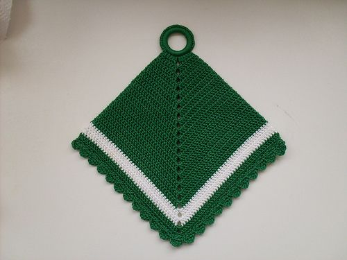 Ravelry: Ship Shape Potholder #9224 pattern by The Spool Cotton Company
