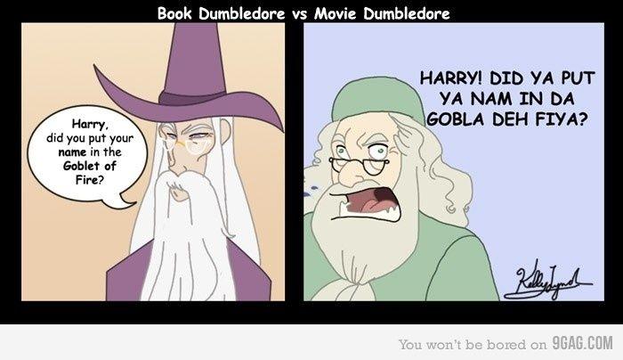 Dumbledore Goblet Of Fire Meme