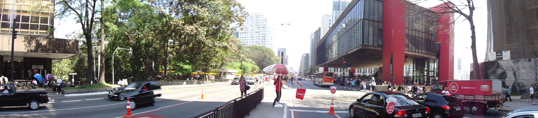 Ciclofaixa Paulista Avenue