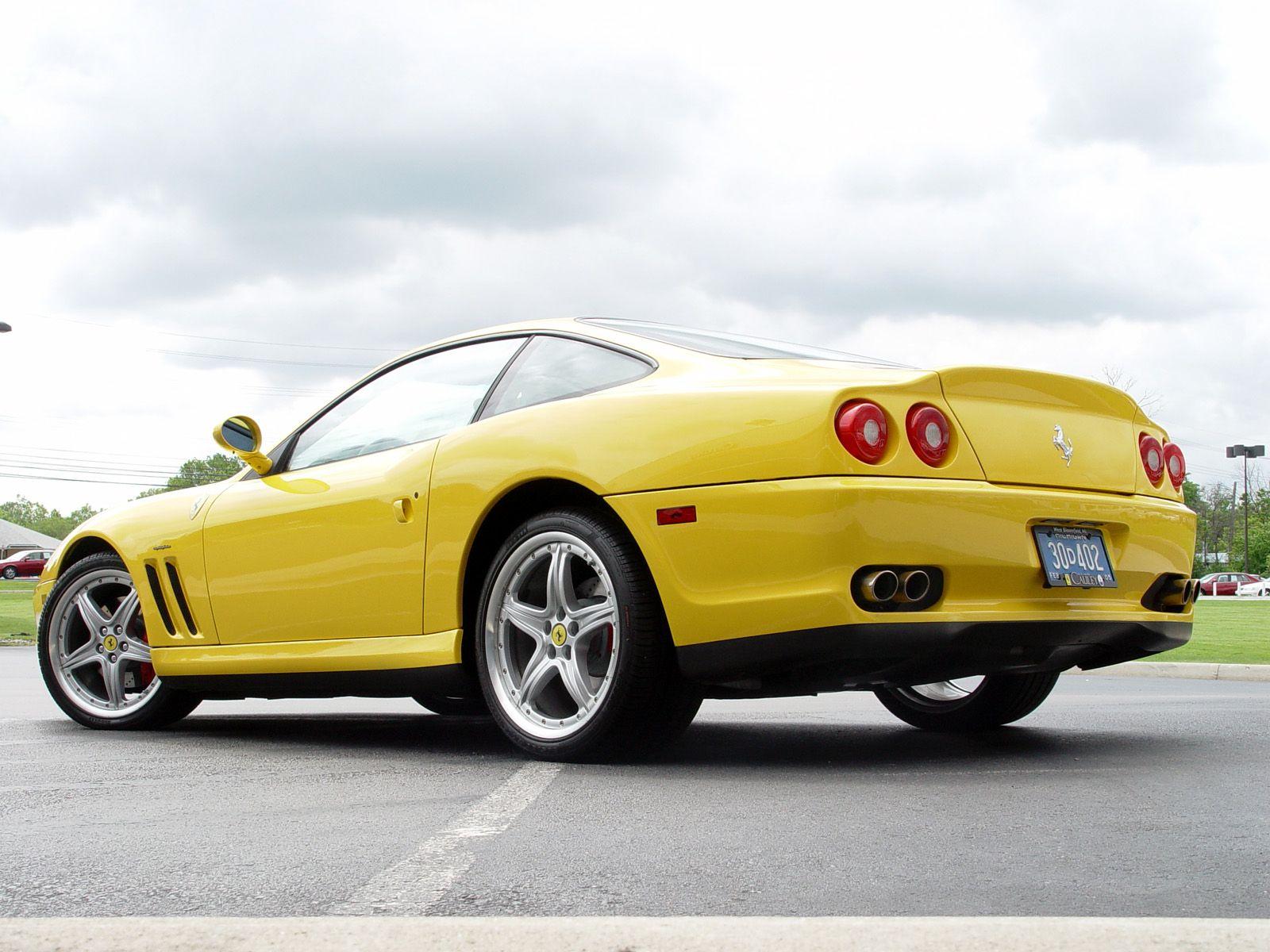 Yellow Ferrari 575M Maranello Car picture , Car HD Wallpaper