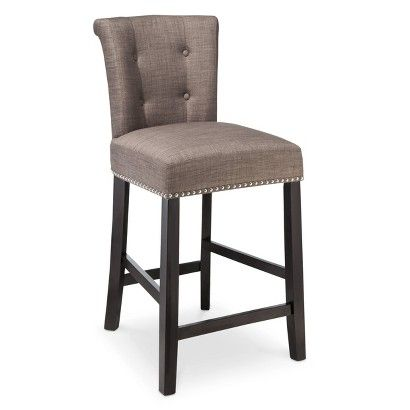 Threshold Scrollback With Nailhead 24 Counter Stool 89 99 Shown