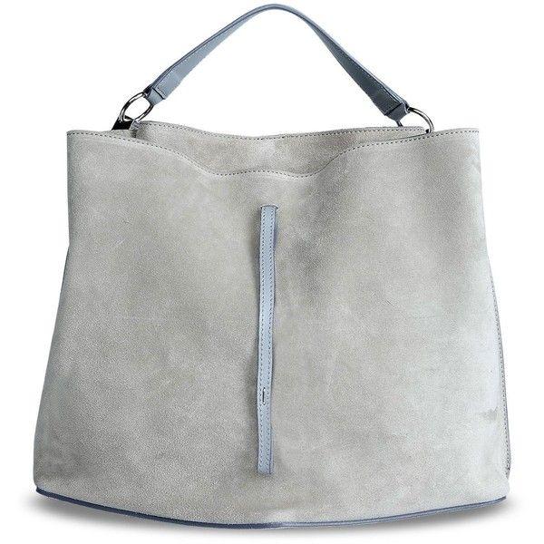 Maison Margiela 11 Shoulder Bag (10.545 NOK) ❤ liked on Polyvore featuring bags, handbags, shoulder bags, сумки, grey, shoulder bag handbag, man bag, shoulder hand bags, handbags shoulder bags and gray shoulder bag