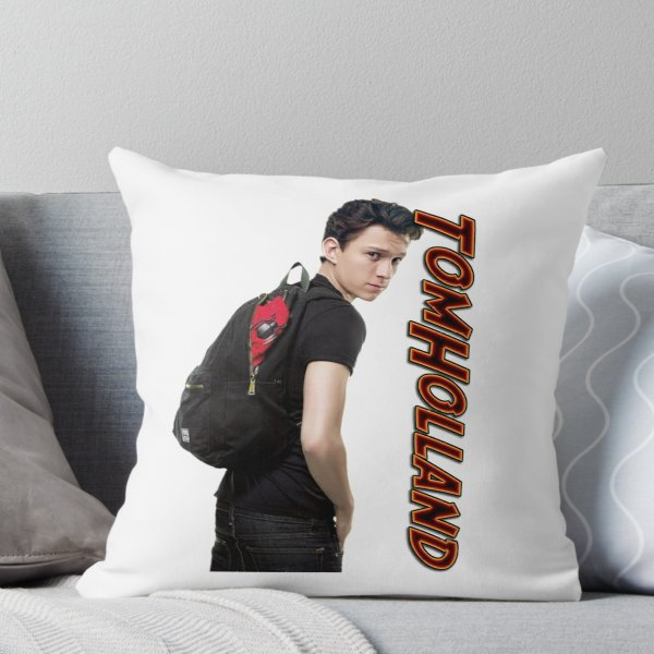 Tom Holland ' Throw Pillow by
