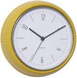 Karlsson Retro Wall Clock - Yellow