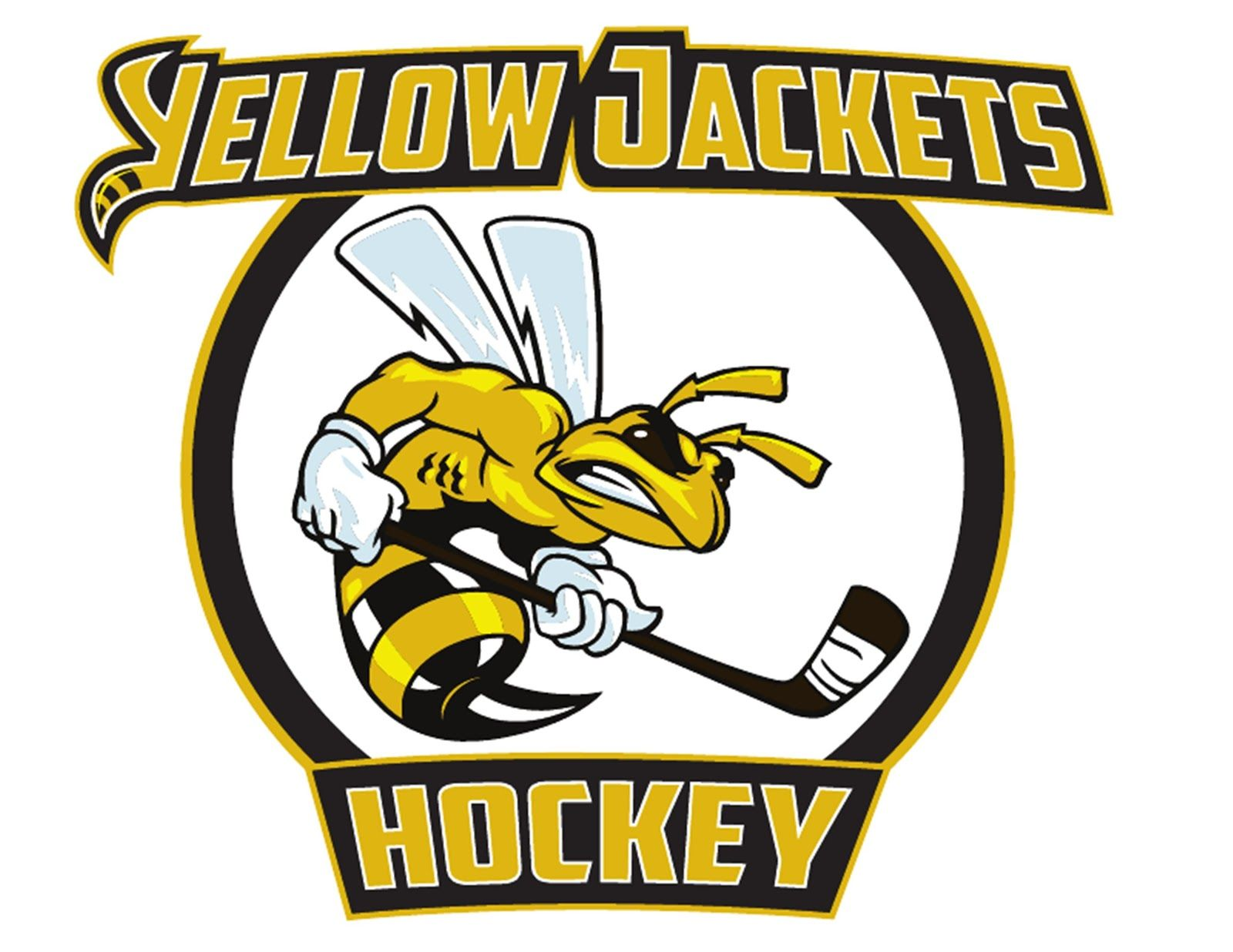 American International Yellow Jackets Hockey Google Search Hockey Logos Men S Hockey Hockey