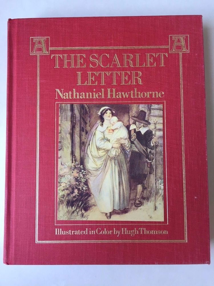 The Scarlet Letter by Nathaniel Hawthorne (1987, Hardcover