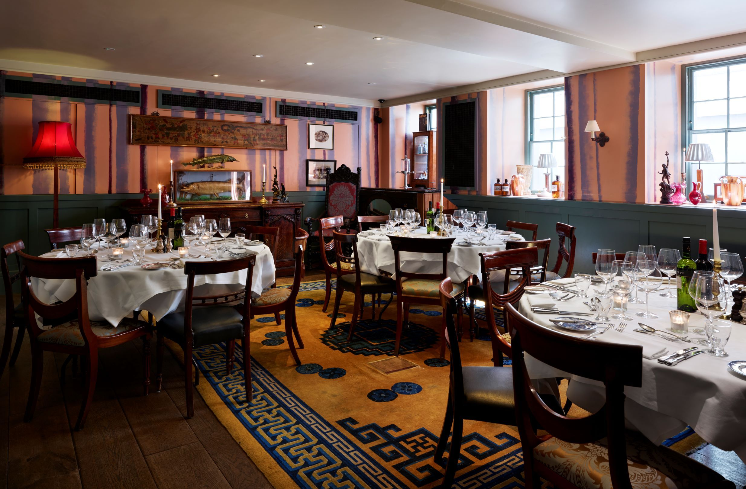 Private Dining In The Games Room At The Zetter Townhouse With