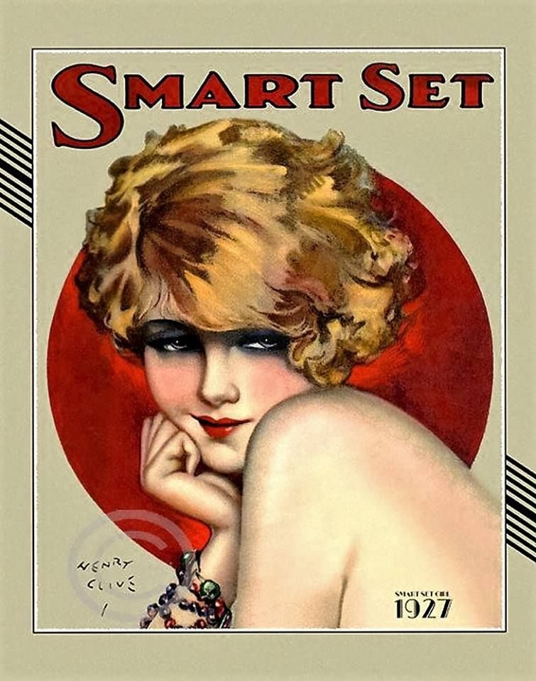 Smart Set Blonde Smart Set Girl 1927 Henry Clive